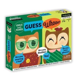 """Mudpuppy Guess Whooo? """"Owls and Foxes"""""""