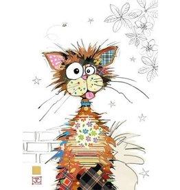 """BugArt Wenskaart """"Ziggy Cat"""""""