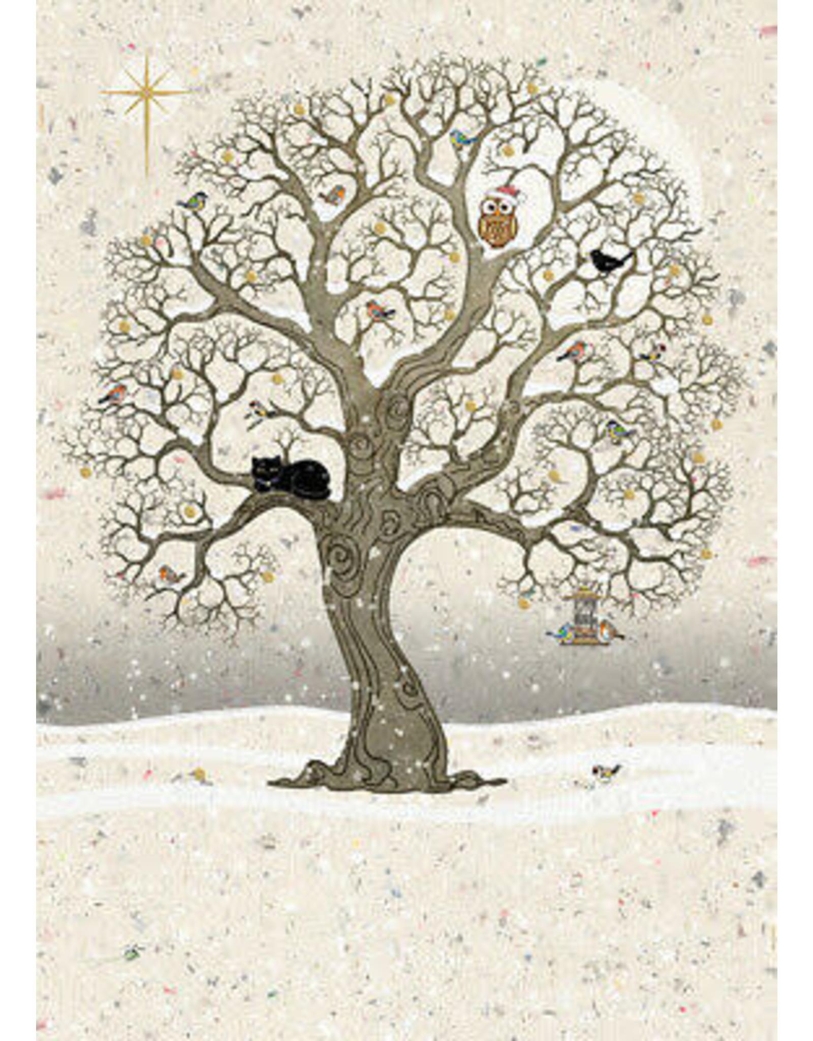 """BugArt Wenskaart """"Christmas Oak"""""""