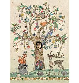 """BugArt Wenskaart """"Festive Tree"""""""