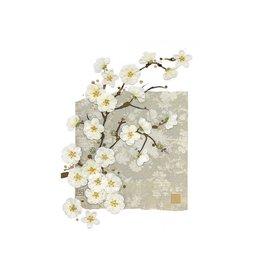 """BugArt Wenskaart """"White Blossom"""""""