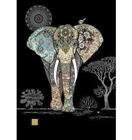 "BugArt Wenskaart ""Decorative Elephant"""