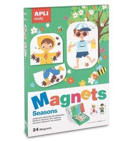 "APLI Magnets ""Seizoenen"""
