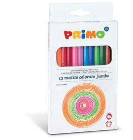 Primo Jumbo Kleurpotloden (12 stuks)