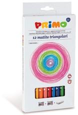 Primo Jumbo Kleurpotloden Driezijdig (12 stuks)
