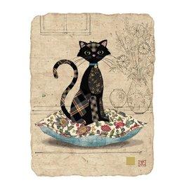 "BugArt Wenskaart ""Cat Cushion"""