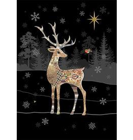 """BugArt Wenskaart """"Reindeer Robin"""""""