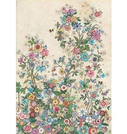 """BugArt Wenskaart """"Bee Flowers"""""""