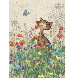 "BugArt Wenskaart ""Cat Meadow"""