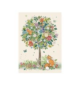 """BugArt Wenskaart """"Woodland Tree"""""""