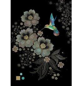 "BugArt Wenskaart ""Blue Hummingbird"""
