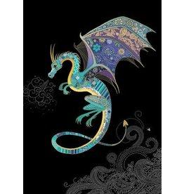 "BugArt Wenskaart ""Blue Dragon"""