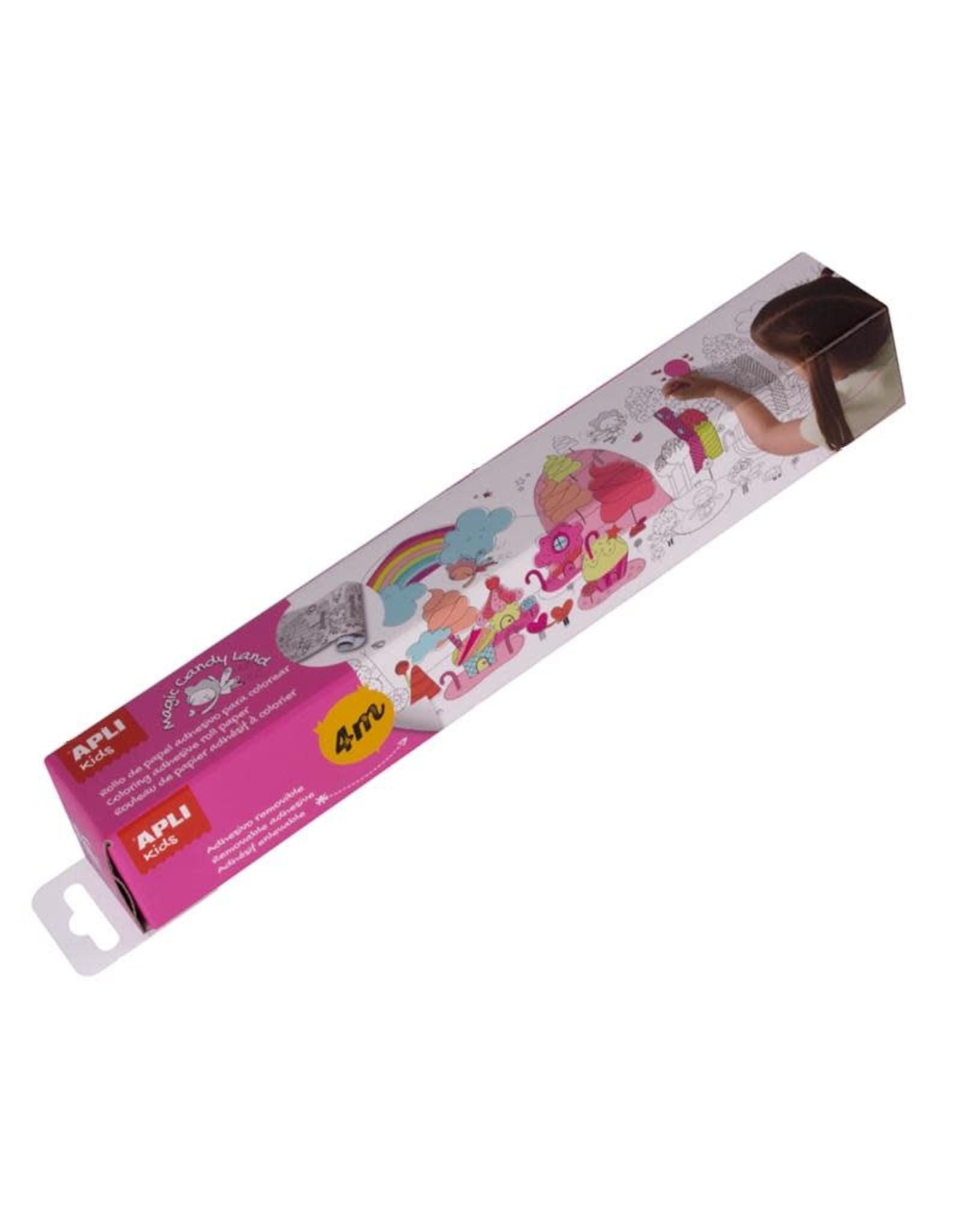 "APLI Kleurposter ""Magic Candy Land"""
