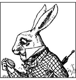 "Madame Treacle Wenskaart ""Down the Rabbit-Hole"""