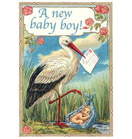 "Madame Treacle Wenskaart ""A New Baby Boy"""