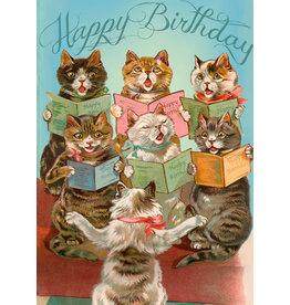 "Madame Treacle Wenskaart ""The Cat's Chorus"""