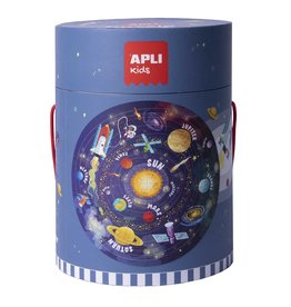 "APLI Vloerpuzzel Rond 48-delig ""Solar System"""