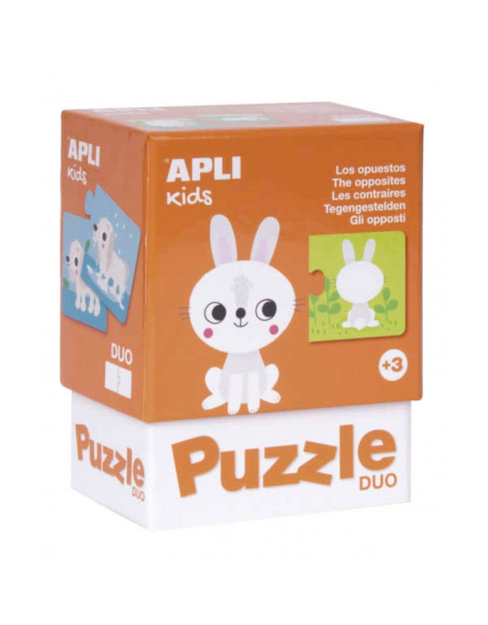 """APLI Duo Puzzels """"Tegengestelden"""""""