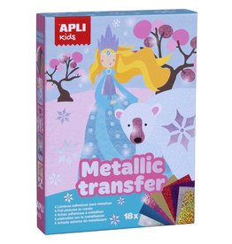 "APLI Transfer Metalic ""Princessen"""