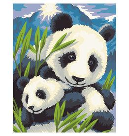 """Schilderen op Nummer """"Panda"""""""