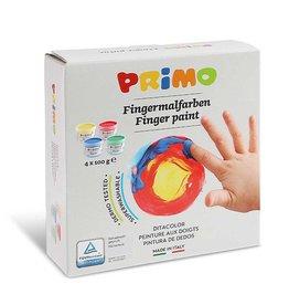 Primo Vingerverf (4 kleuren)