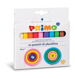 Primo Kneedklei 10 kleuren