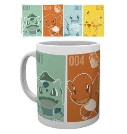 Pokemon Starters Mug