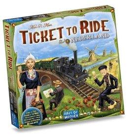 Hasbro Ticket to Ride Nederland