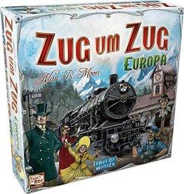 Hasbro Ticket to Ride Europa