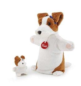 Trudi Handpop Hond met Baby