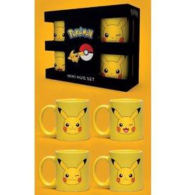 Pokemon Pikachu Mini Mug Set