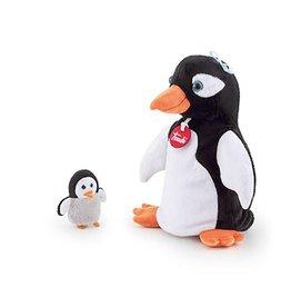 Trudi Handpop Pinguin met Baby