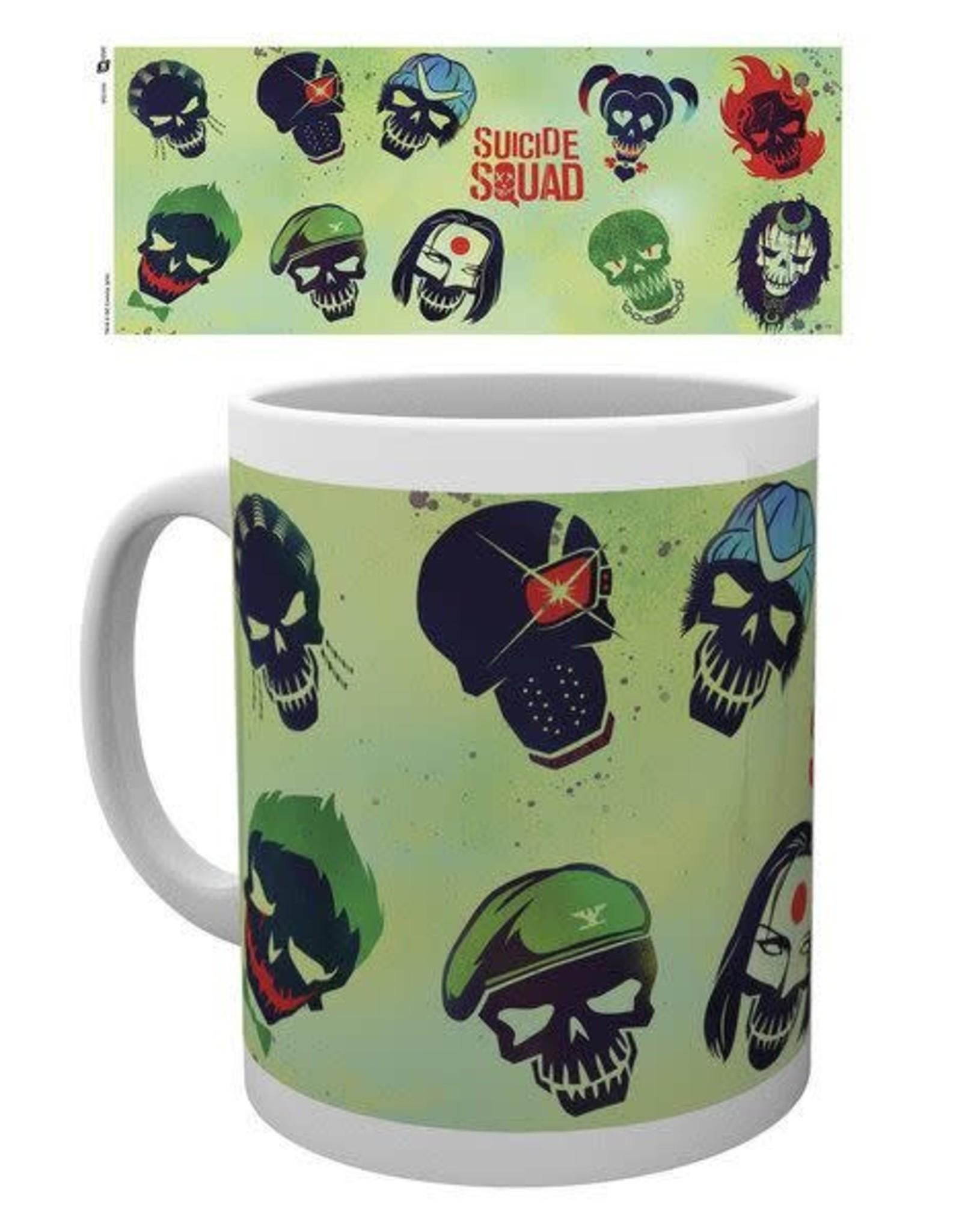 DC Comics Mug - Suicide Squad Skulls Green