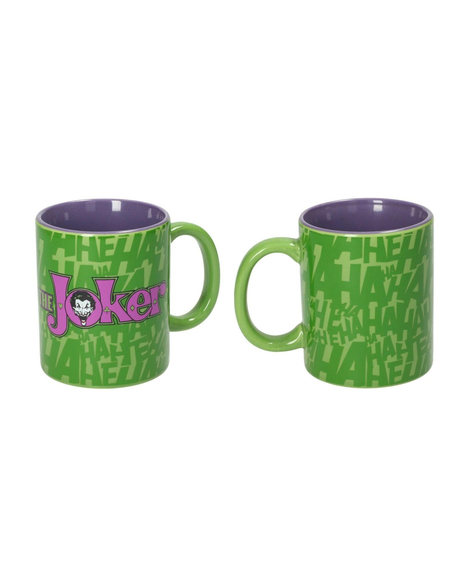 DC Comics Mug - The Joker Green and Purple Logo