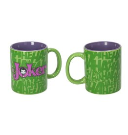 DC Comics Mug - The Joker Green and Purple Logo