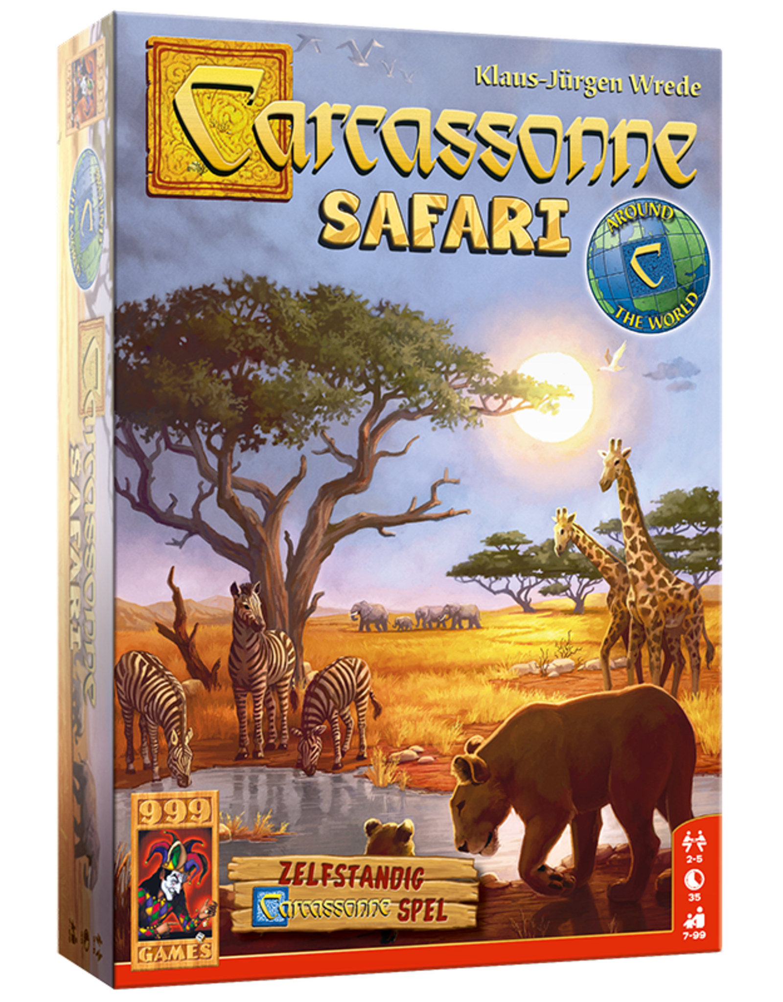 999 Games Carcassonne: Safari
