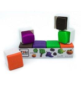 Relevant Play Toki Dough - 4-Pack Bruin/Paars/Groen/Oranje