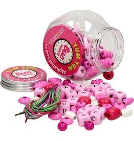 Houten Kraaltjes Alfabet Beads