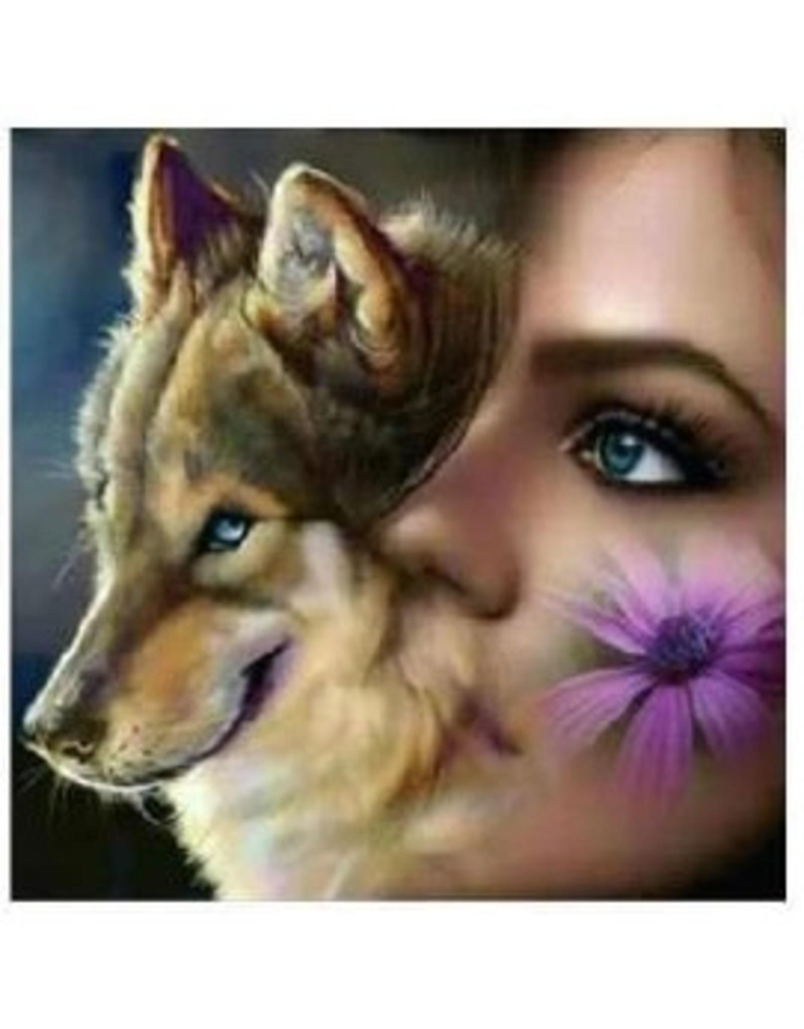 "Diamond Painting ""Wolf Women"""