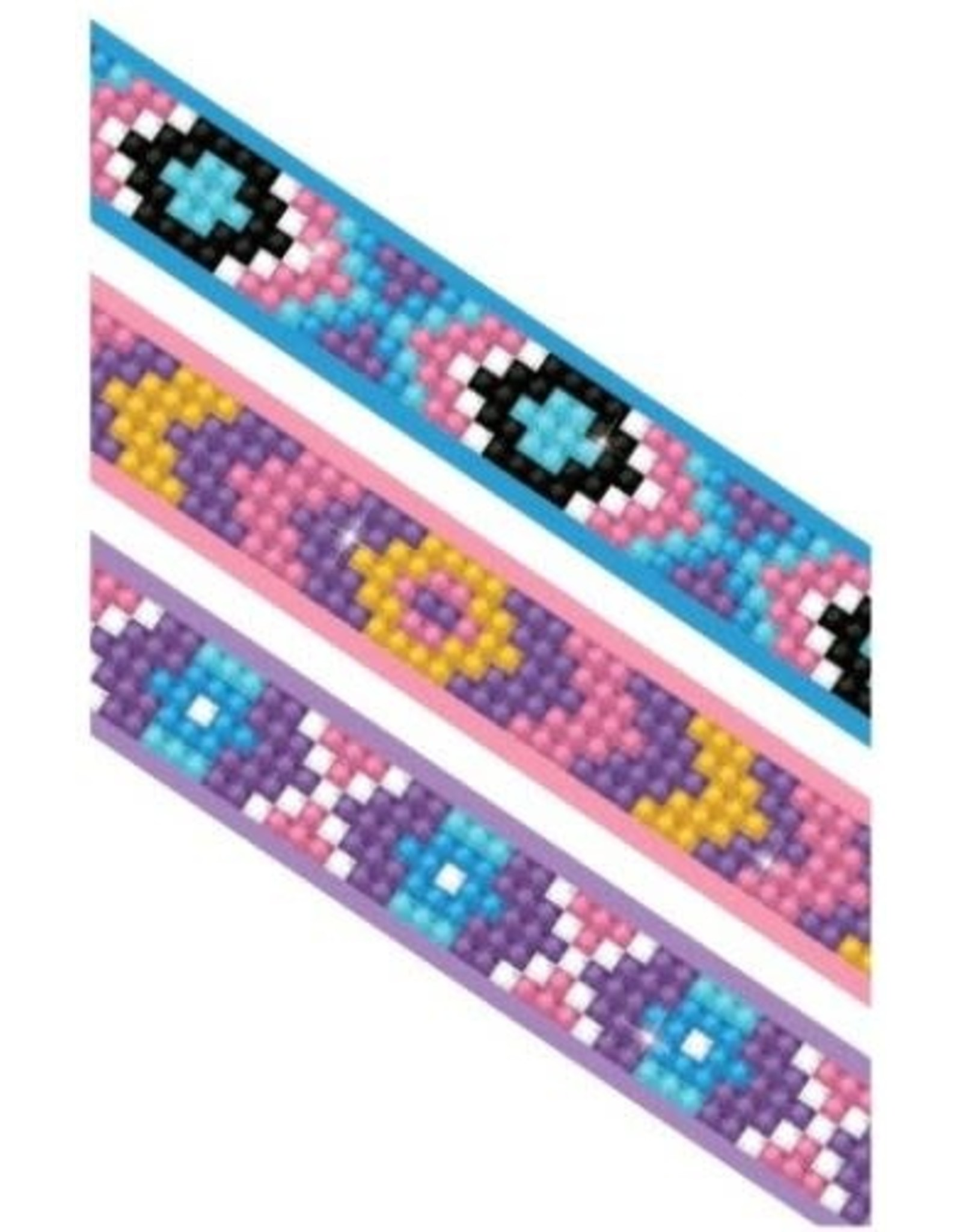 "Diamond Dotz Dotzies Bracelets ""Mauves"""