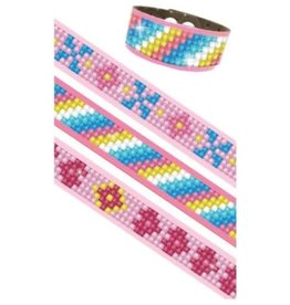 "Diamond Dotz Dotzies Bracelets ""Pinks"""