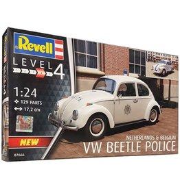 Revell Model Set VW Beetle Police