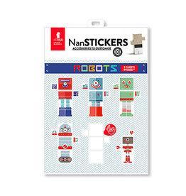 El Nan Nan Stickers Robots