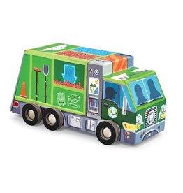 "Crocodile Creek Puzzle & Play ""Recycle Wagen"""