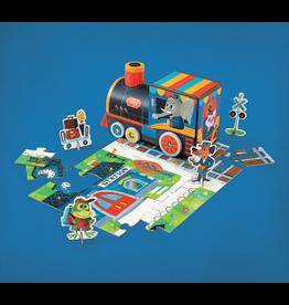 "Crocodile Creek Puzzle & Play ""Train Station"""