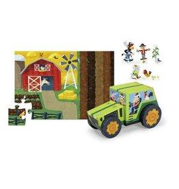 """Crocodile Creek Puzzle & Play """"Tractor"""""""