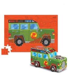 """Crocodile Creek Puzzle & Play """"Safari Jeep"""""""