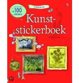 Kunst- Stickerboek