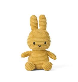 nijntje Miffy Sitting Corduroy Yellow 23 cm