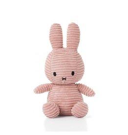 nijntje Miffy Sitting Corduroy Pink 23 cm